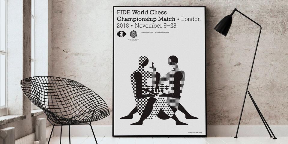 Как создавался скандальный логотип матча за мировую шахматную корону