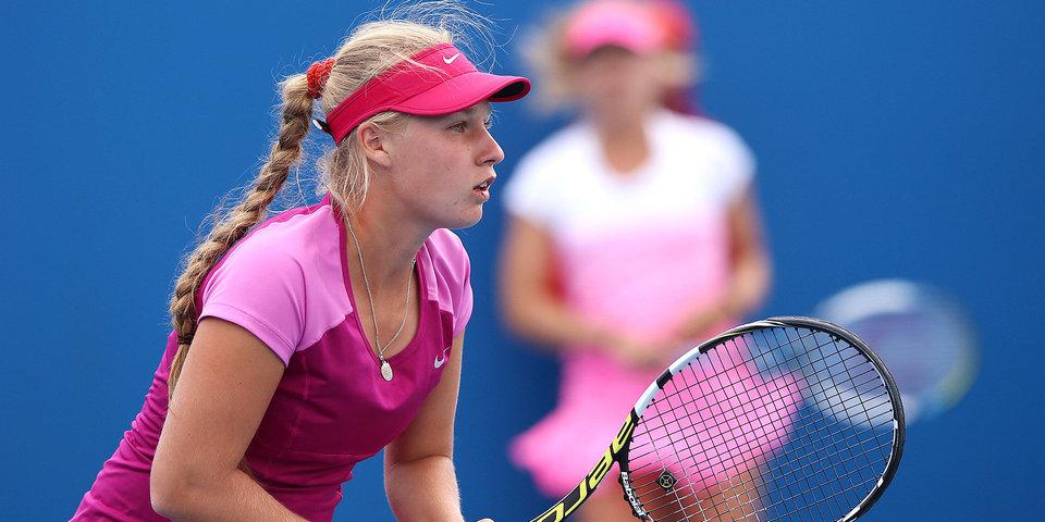 Блинкова уступила Кенин в полуфинале турнира WTA в Гуанчжоу