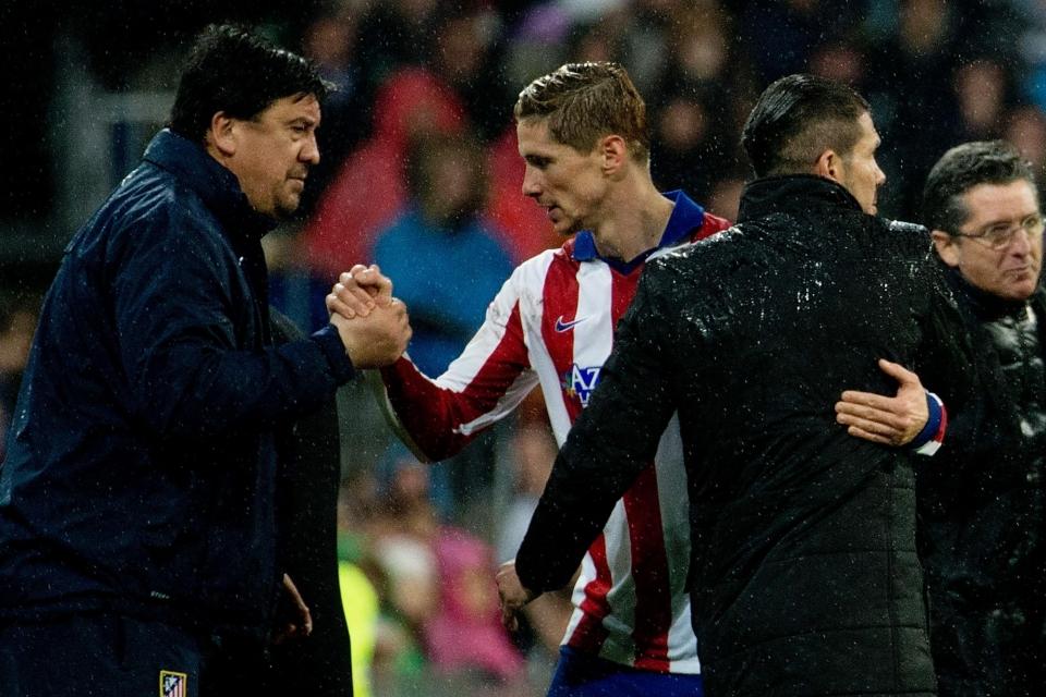 Торрес оформил дубль в прощальном матче за «Атлетико»