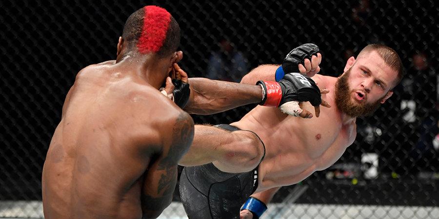 Физиев узнал следующего соперника в UFC
