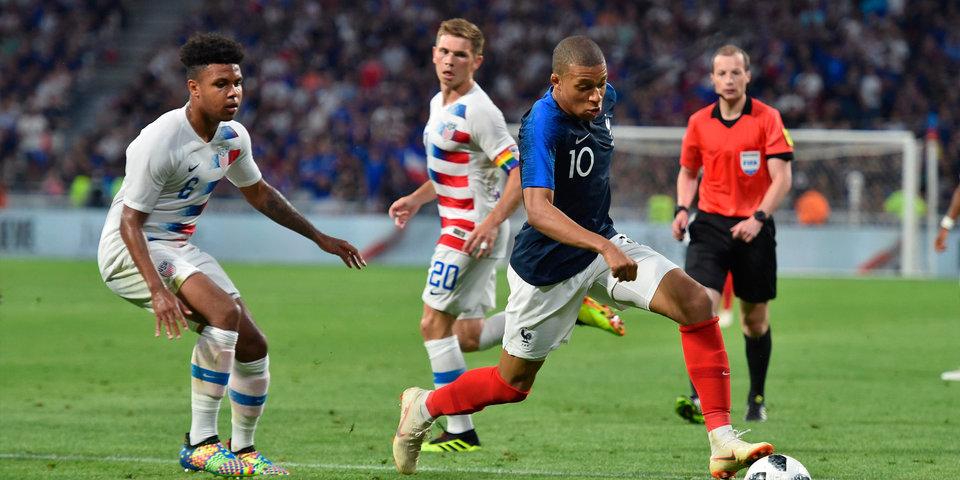 Франция не смогла обыграть США. Голы и лучшие моменты