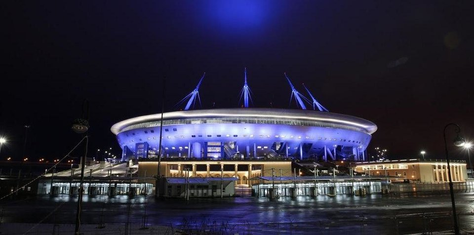 Как новый стадион «Зенита» выглядит прямо сейчас