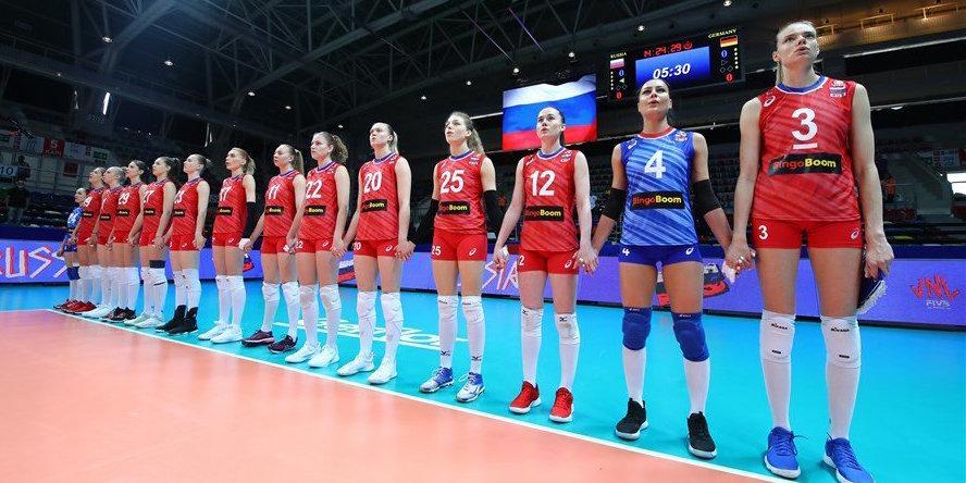 Россиянки победили Болгарию в Лиге наций