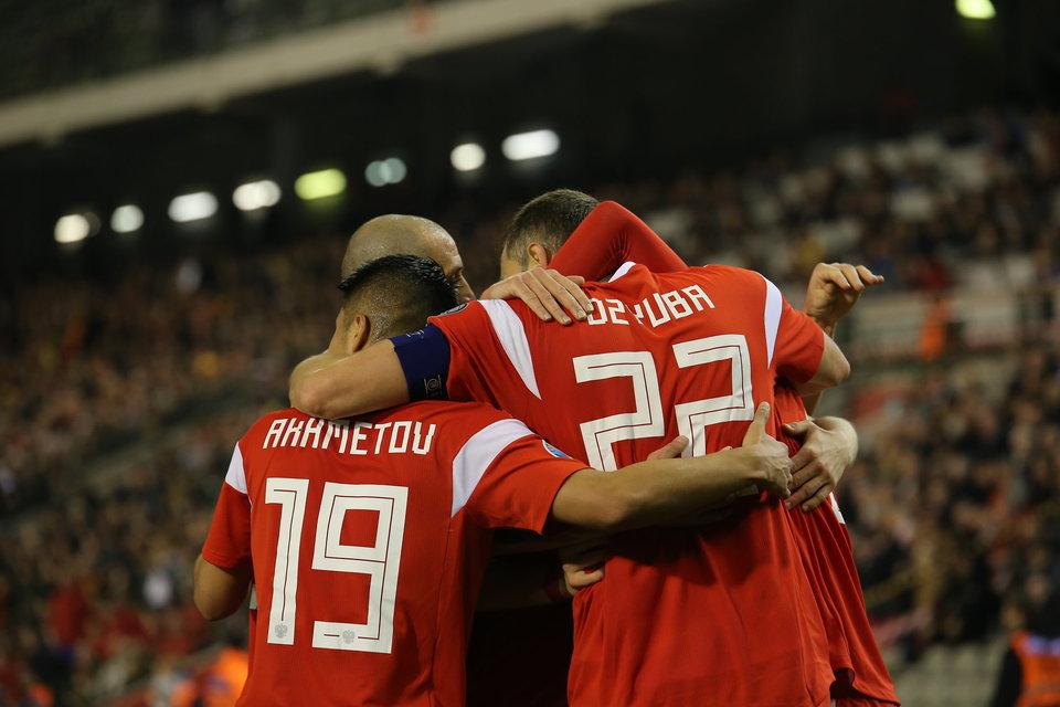 Сборная России отправилась в Казахстан на отборочный матч Евро-2020