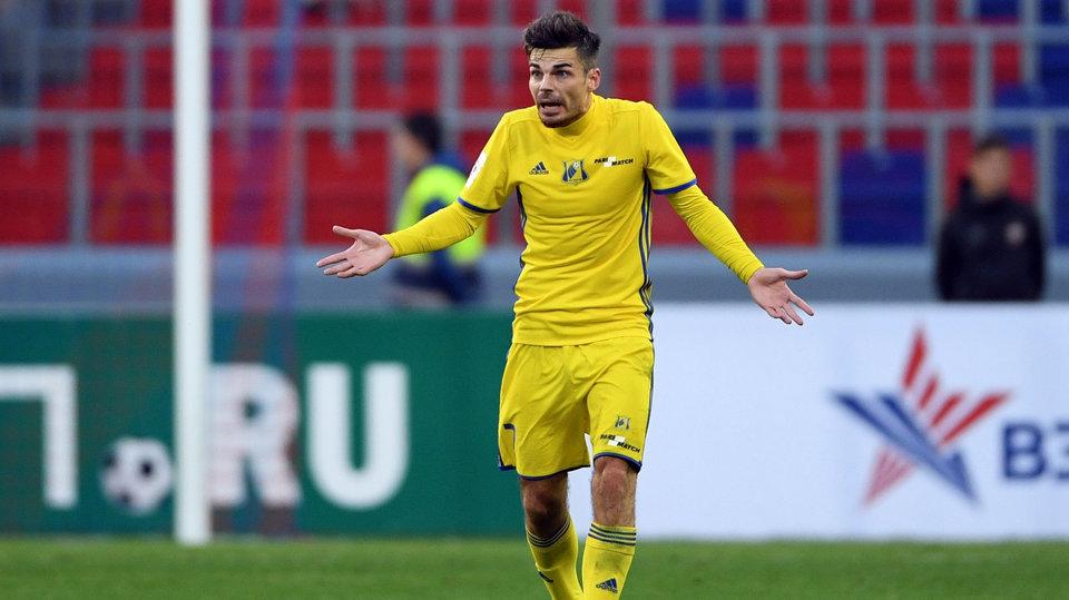 «Ростов» объявил об уходе Юсупова