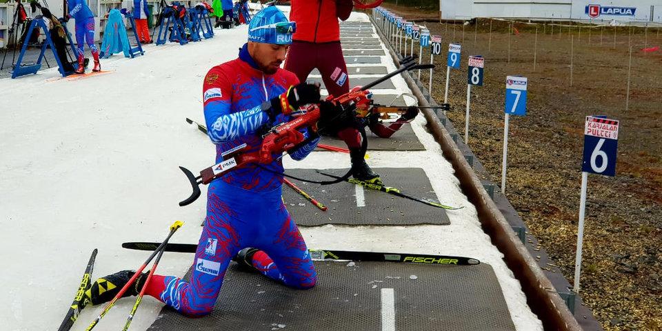 Шипулин опробовал новую форму сборной. Фото