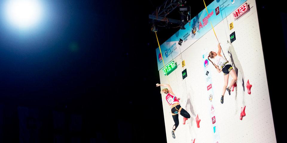 Российская скалолазка стала первой спортсменкой в истории, которая завоевала два золота на одном ЧЕ