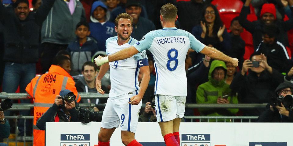Англия завершила отборочный турнир к ЧМ-2018 без поражений