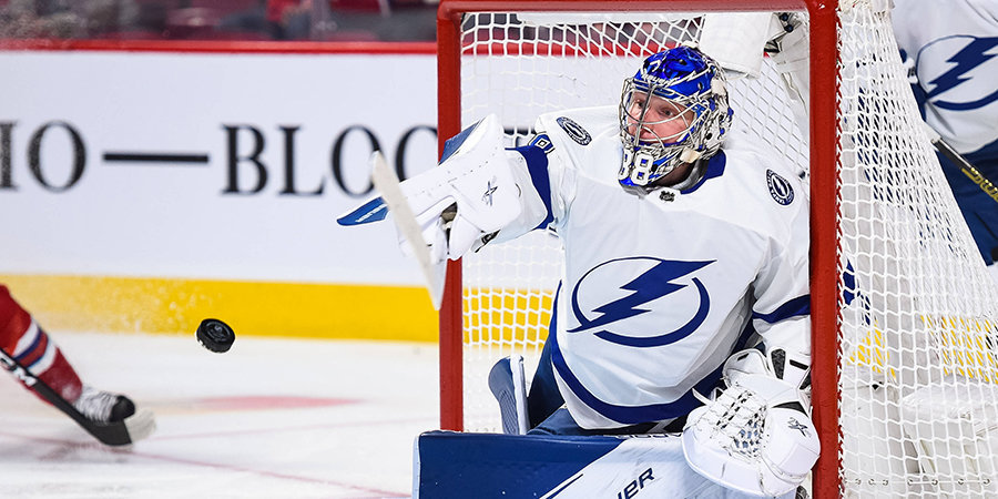Василевский признан лучшим игроком матча, Дадонов сделал дубль, Панарин стал третьей звездой декабря. Обзор дня НХЛ