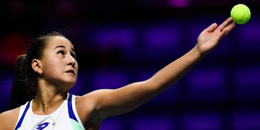 Рахимова закончила выступление на турнире в Мельбурне после первого круга