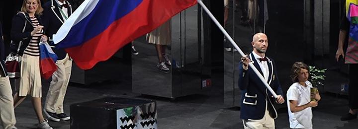 Сколько раз в истории России знаменосец становился олимпийским чемпионом