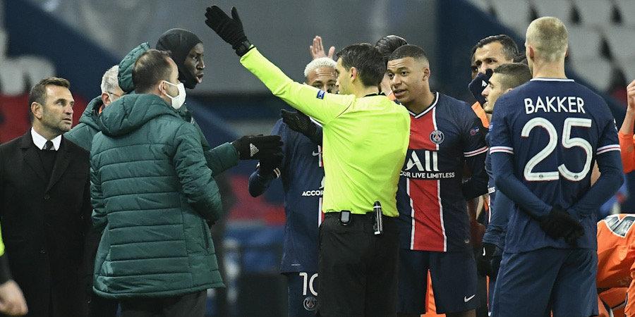 УЕФА отменил красную карточку Пьера Вебо