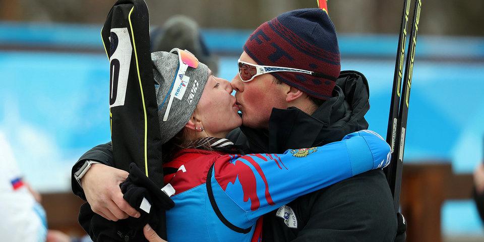 Российская биатлонистка Мошкова вышла замуж