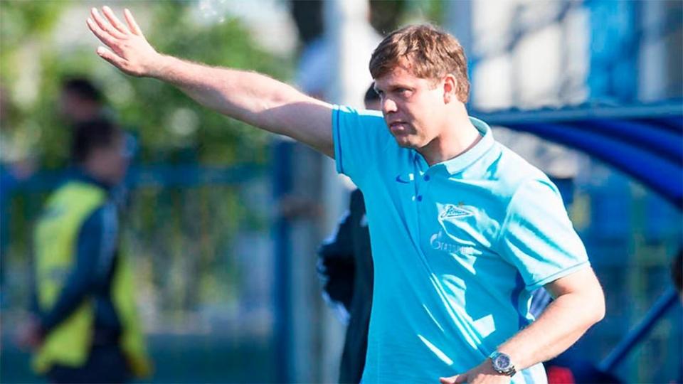 Давыдов сменил Радимова во главе второй команды «Зенита»
