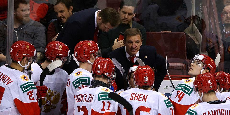 Иван Муранов удален до конца матча против Швейцарии и пропустит матч против Канады
