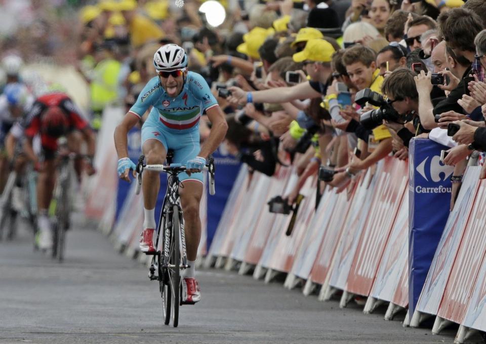 Нибали выиграл 3-й этап «Вуэльты Испании»