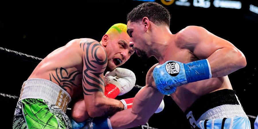 Украинский боксер лишится гонорара и будет оштрафован за укус Гарсии