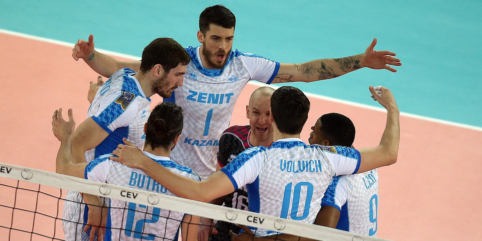 «Зенит» одержал 3-ю победу вволейбольной Лиге чемпионов подряд, разгромив «Ястшембски Венгель»
