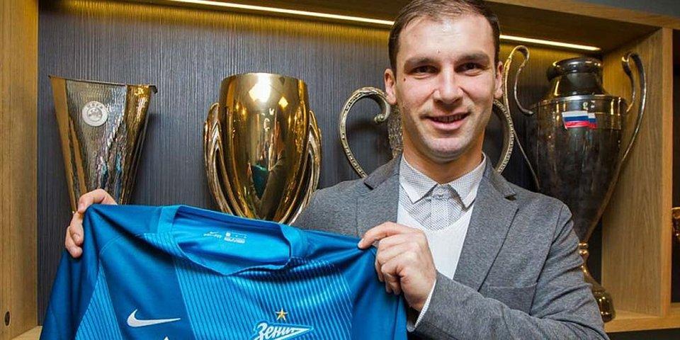 Иванович официально перешел в «Зенит». Главные трансферы зимы