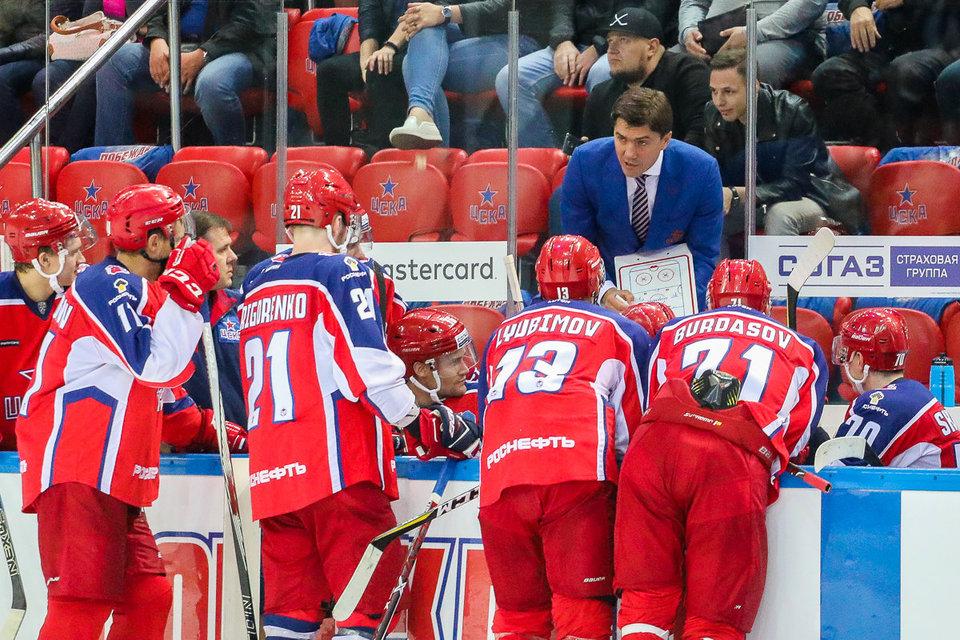9-матчевая победная серия ЦСКА прервалась на Дальнем Востоке