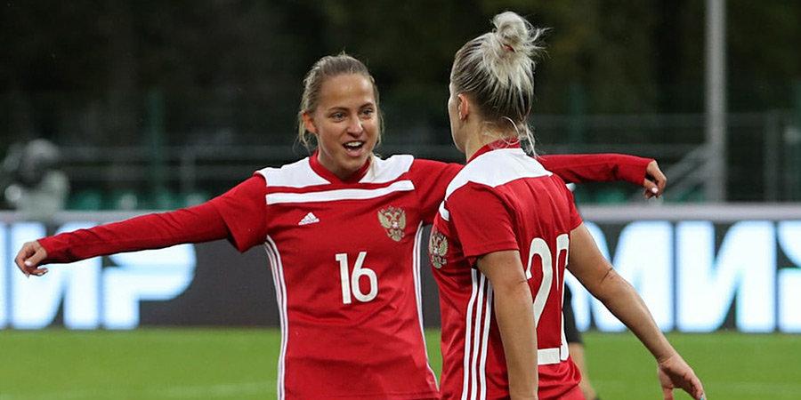 Женская сборная России разгромила Черногорию и возглавила группу отбора к ЧМ-2023