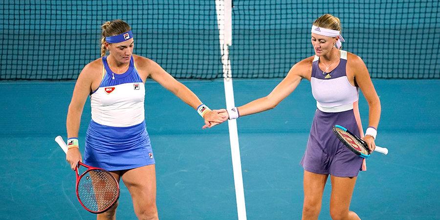 Бабош и Младенович победили на Australian Open в парном разряде
