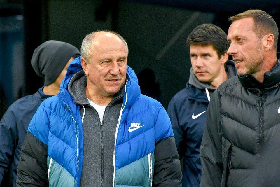 Новиков-старший начал работать в академии «Динамо»