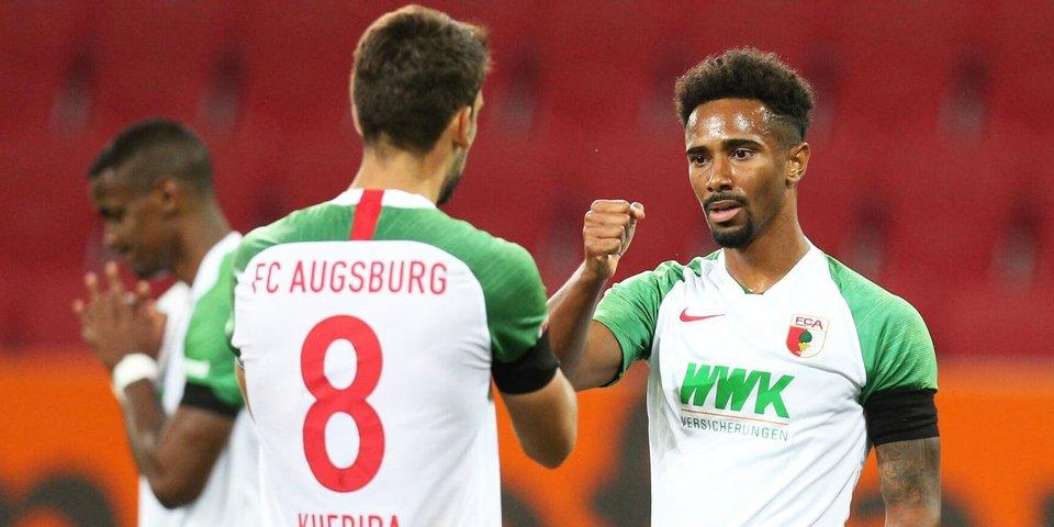 «Аугсбург» вырвал ничью в матче с «Кельном»