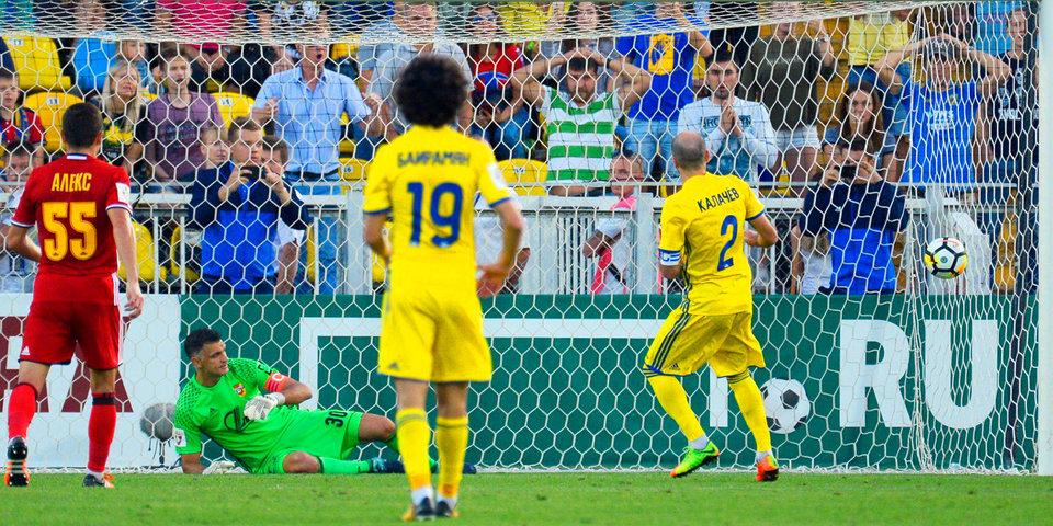 Бухаров и Калачев спасают «Ростов» за пять минут до конца игры