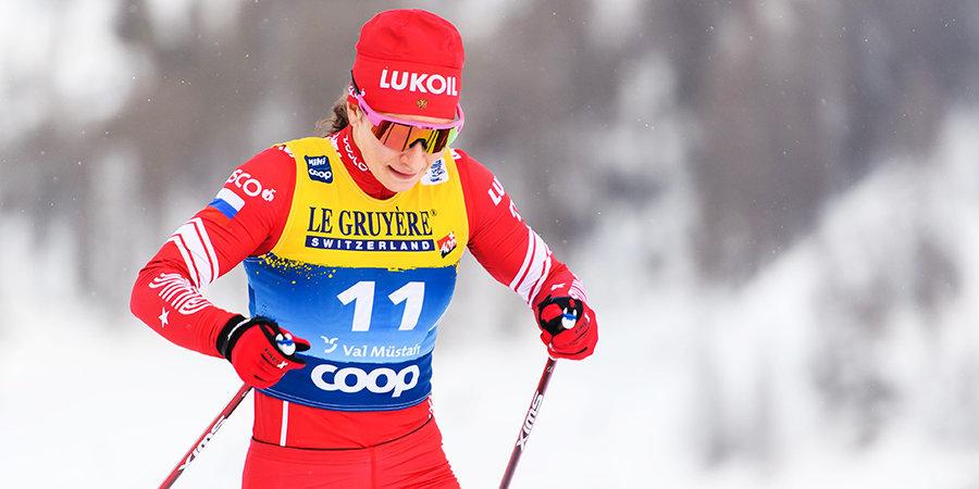 Непряева выиграла масс-старт на этапе «Тур де Ски» в Валь-ди-Фьемме