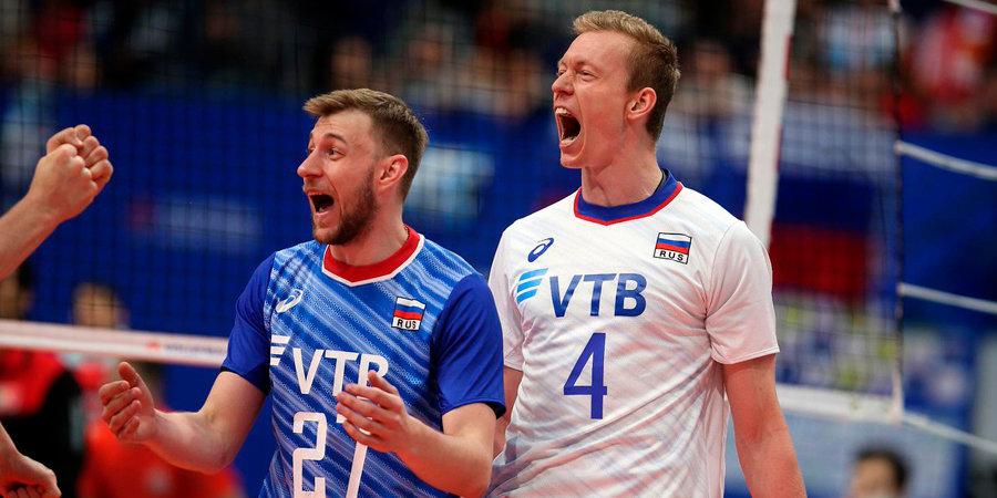 Россия одержала пятую победу подряд в Лиге наций, обыграв Италию