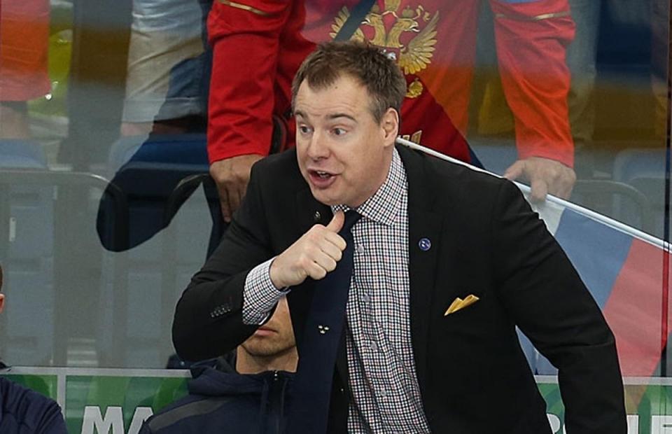 Гренберг покинет пост тренера сборной Швеции после ЧМ-2019