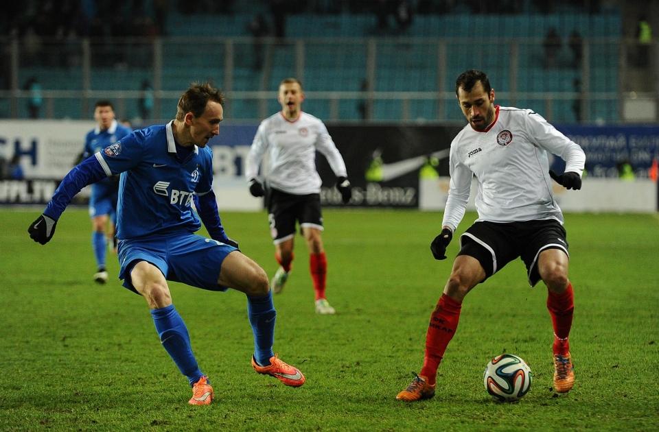 Козлов вернулся в общую группу «Динамо»