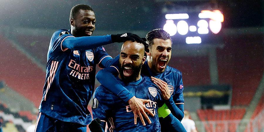 «Арсенал» и «Вильярреал» встретятся в полуфинале Лиги Европы