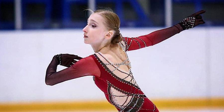 Муравьева выиграла короткую программу на первенстве России среди юниоров, опередив Акатьеву и Петросян