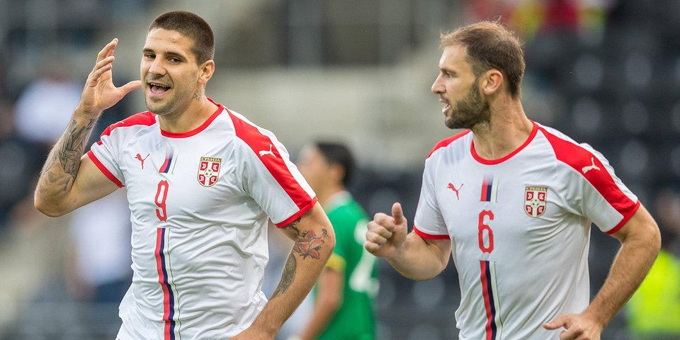 Сербия обыграла Черногорию, Румыния разобралась с Литвой