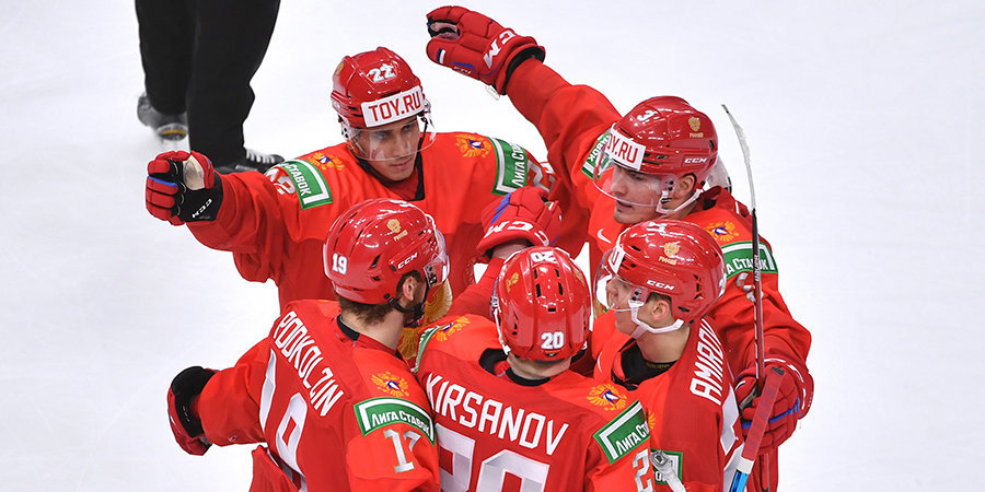 Амиров признан лучшим игроком сборной России в матче МЧМ со Швецией
