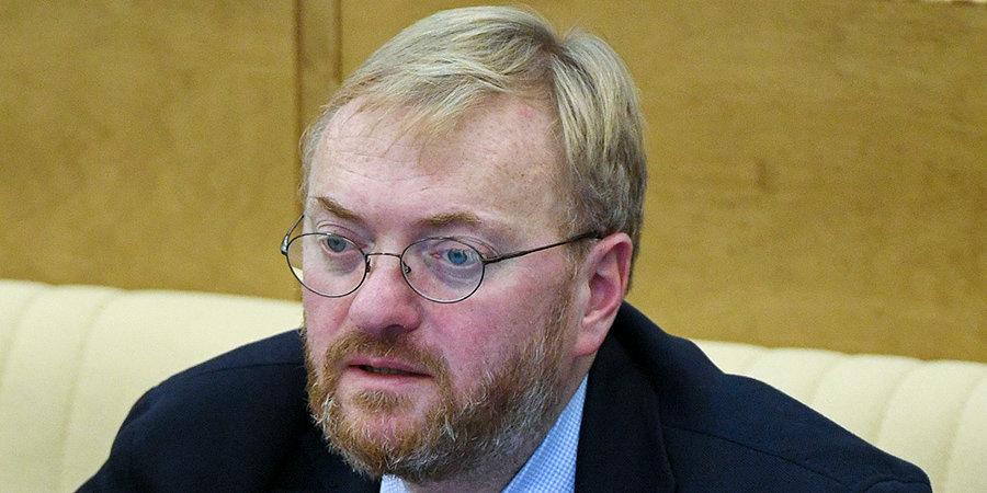 Виталий Милонов: «Нельзя, особенно Хабибу, в таких вещах использовать подобного рода юмор»