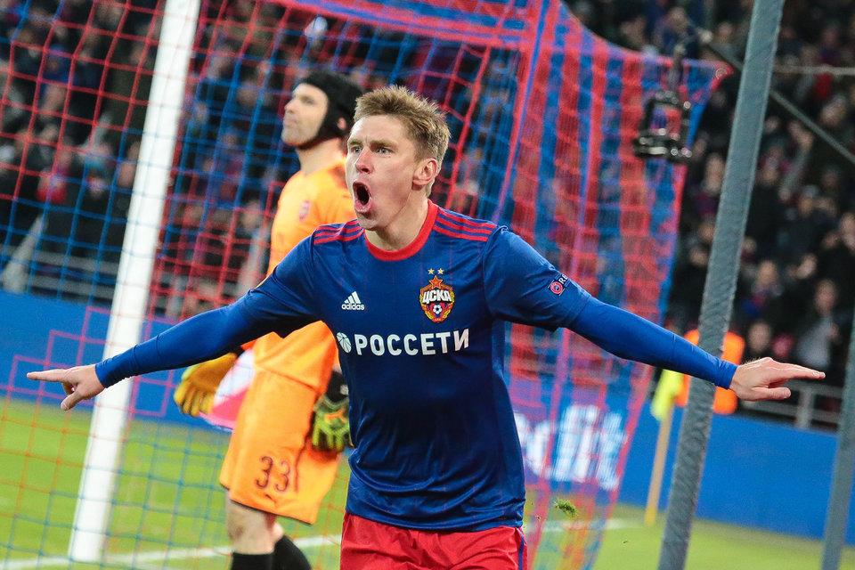 Набабкин вошел в команду недели в Лиге Европы