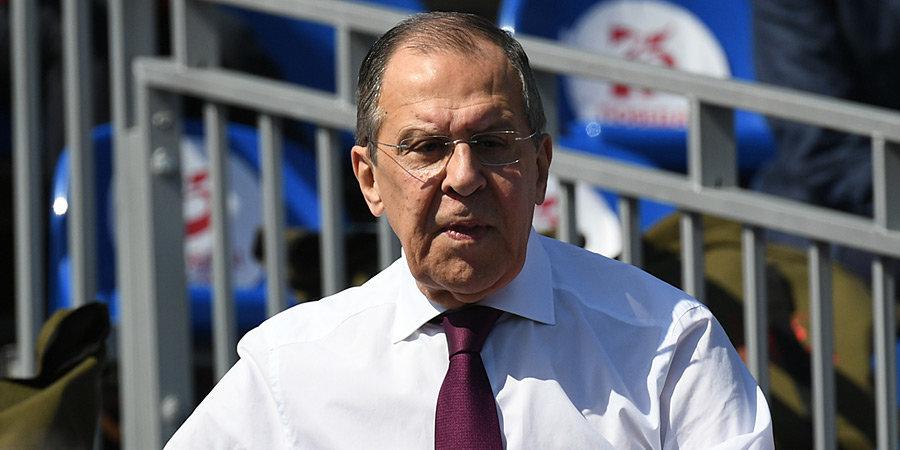 Сергей Лавров — олимпийцам: «На Играх не прекращались попытки подорвать вашу волю. Но вы всех этих политиканов посрамили»