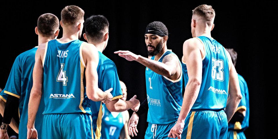 «Астана» обыграла «Цмоки-Минск», прервав серию поражений в Единой лиге