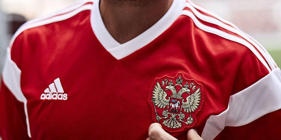 Представлена домашняя форма сборной Российской Федерации  пофутболу начемпионат мира