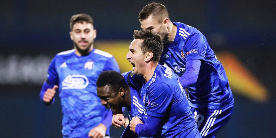 Загребское «Динамо» в 22-й раз в истории стало чемпионом Хорватии