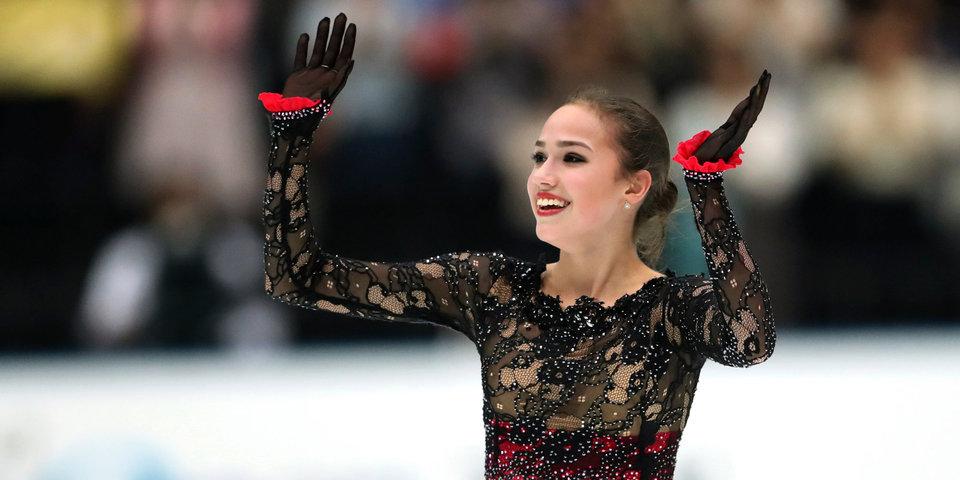 Загитова победила на этапе Гран-при в Москве, Самодурова — вторая