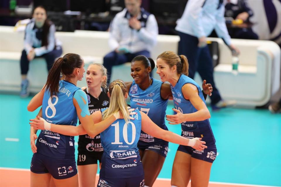 «Динамо» вырвало победу у «Волеро»