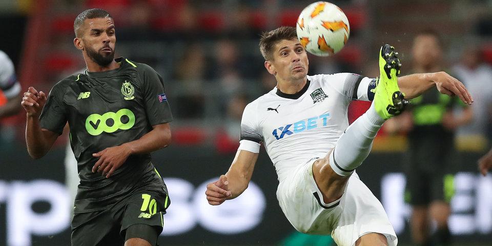 Соперник «Краснодара» по ЛЕ проиграл в чемпионате Бельгии