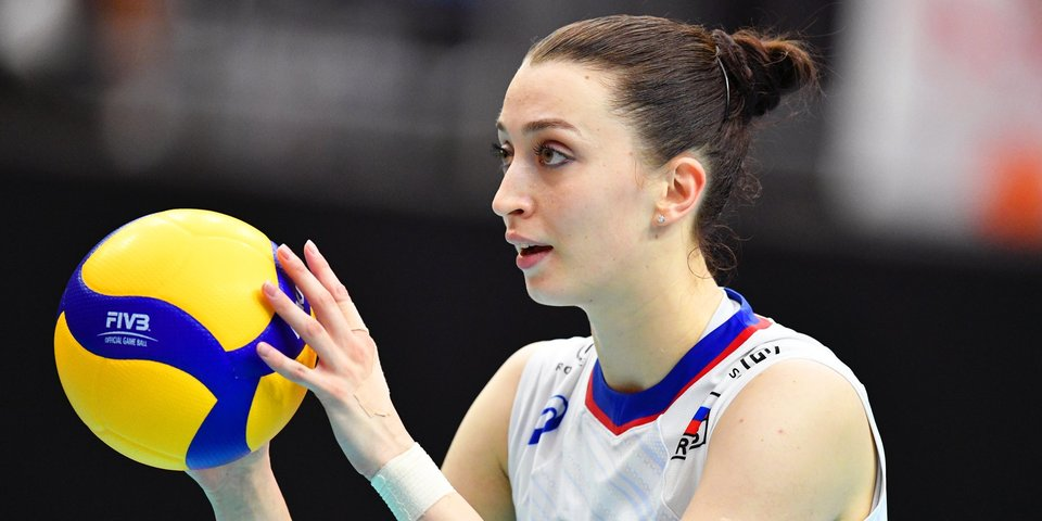 Российские волейболистки потерпели четвертое поражение в Лиге наций, уступив Турции