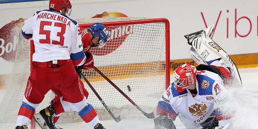 Александр Пашков: «Сборная России выглядит не очень собранной, вратарям прилично достанется от соперников»