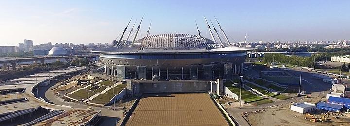 Как сейчас выглядит стадион «Зенита»