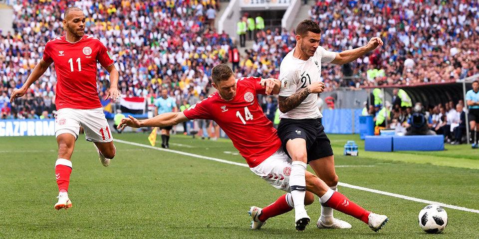 Дания и Франция голов не забили. 0:0. Лучшие моменты